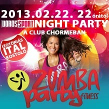 Fergeteges Zumba Party a Club Chrome-ban